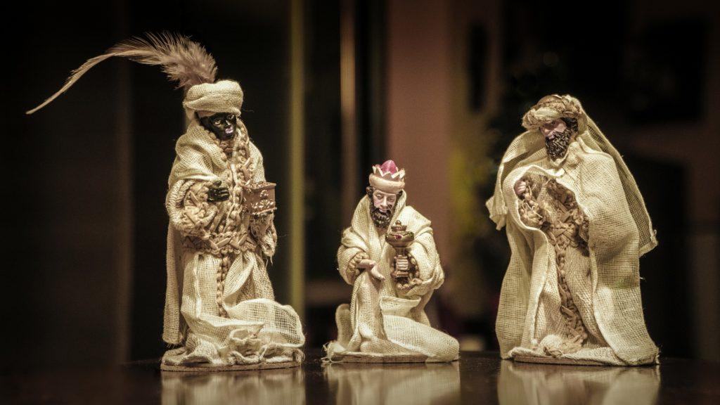 Figuras de los Reyes Magos