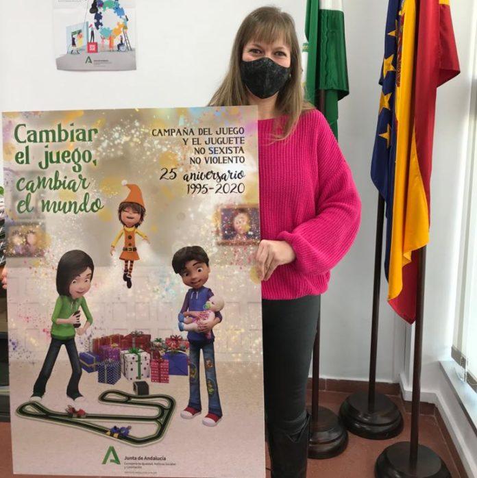 Lourdes Arroyo presenta la campaña del juguetes no sexistas