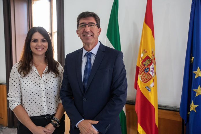 Vicepresidente de la Junta de Andalucía: Juan Marin y Purificación Joyera, proyectos turísticos