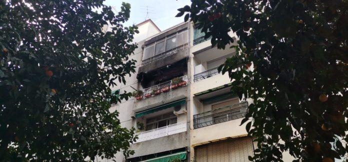 Incendio en la calle Alderetes de Ciudad Jardín. FOTO: Helen Mínguez