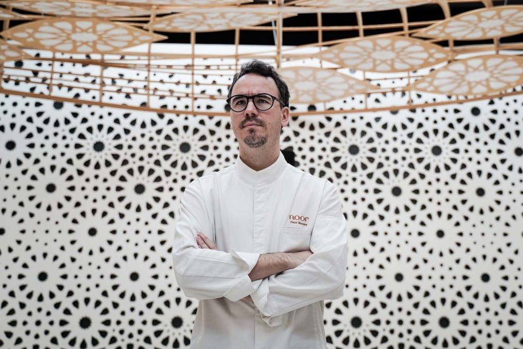 Paco Morales, chef de Noor. Foto: Miguel Valverde
