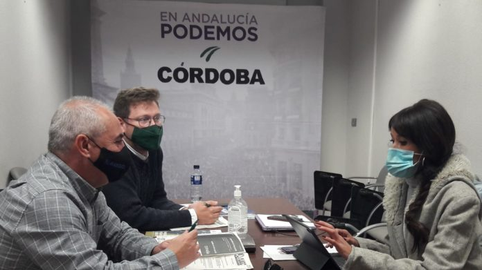 Reunión de AUGC y Podemos