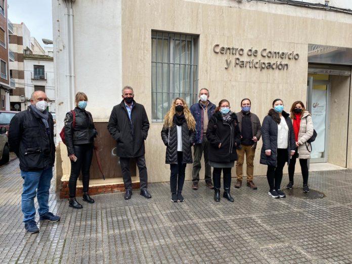 Asociación de empresarios, casco histórico