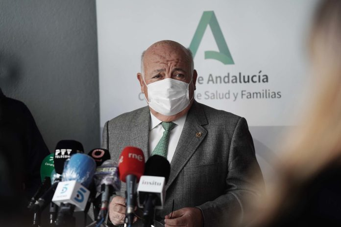 Jesus Aguirre, Consejero de Salud y Familias. Foto: RAM