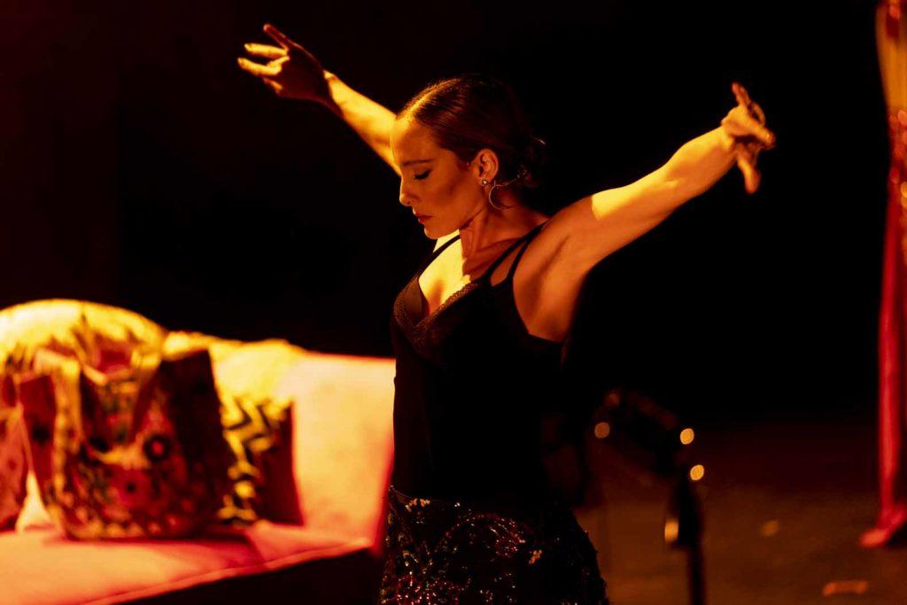 'Que no daría yo por ser Rocío Jurado' en el Gran Teatro. FOTO: IMAE
