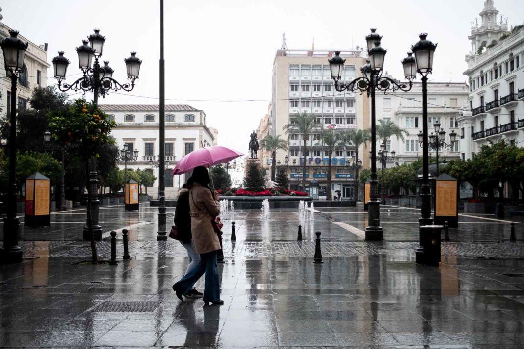 Luvia en la ciudad. Foto: Miguel Valverde