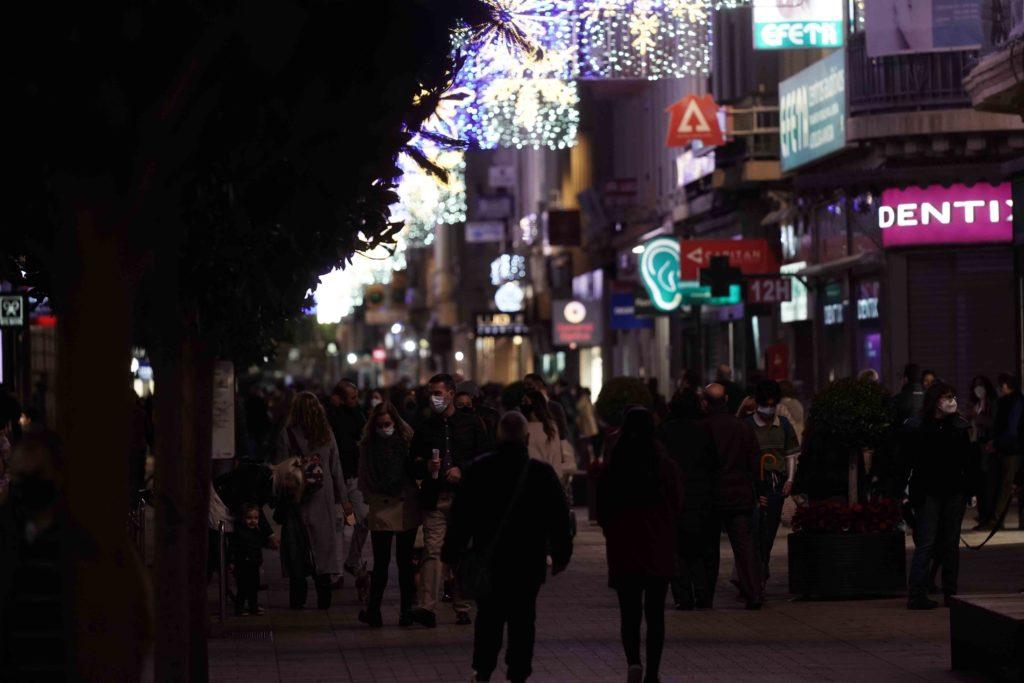 Calle Cruz Conde tras las nuevas medidas. Foto Laura Martín