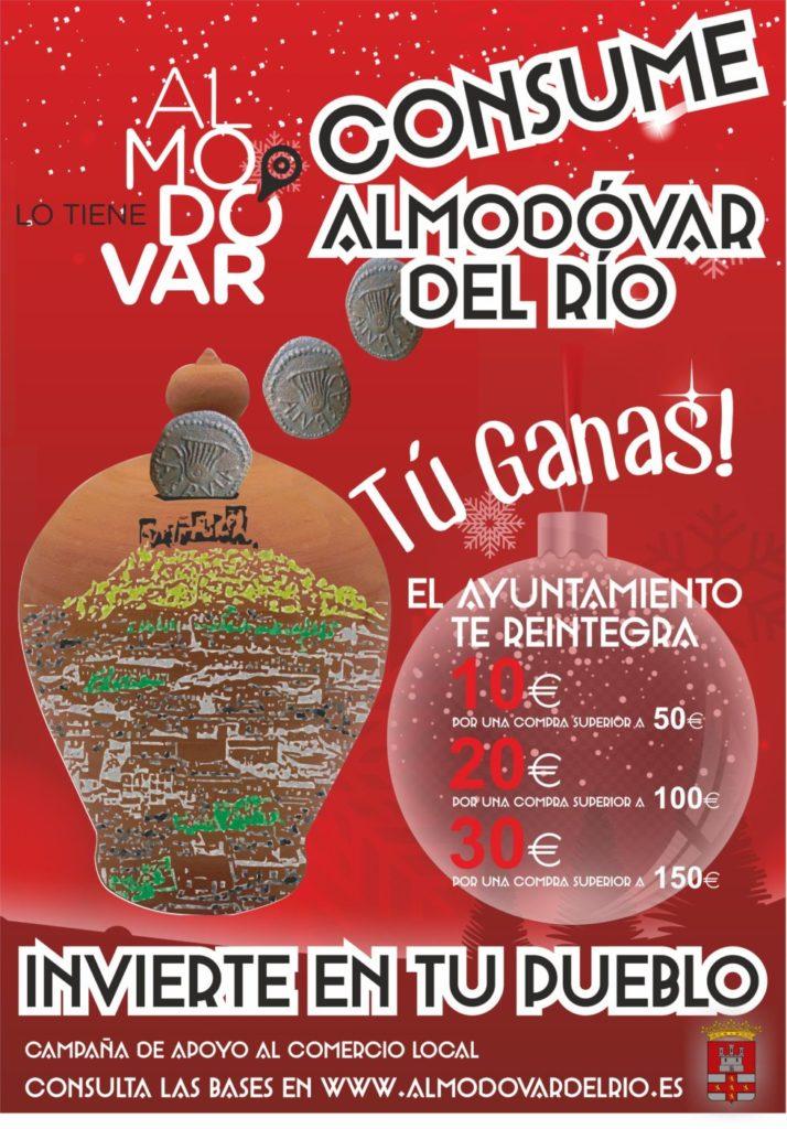 Cartel de la campaña 'Consume Almodóvar del Río'