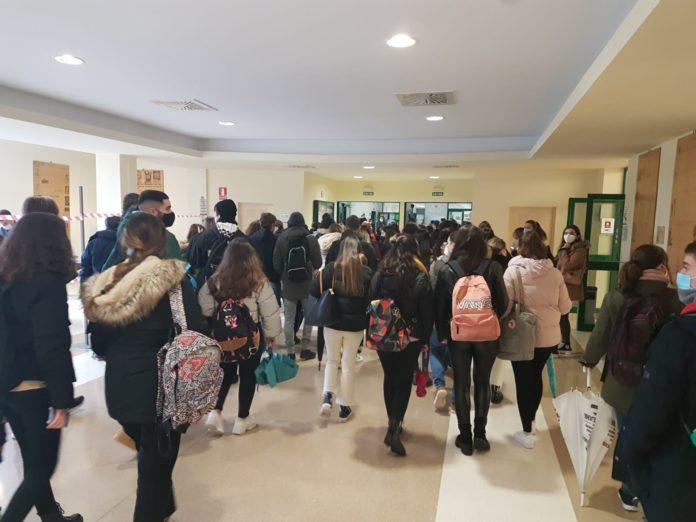 Primer día de exámenes en la Universidad de Córdoba