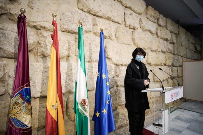 Amparo Pernichi, viceportavoz de IU en el Ayuntamiento de Córdoba. Foto: Miguel Valverde