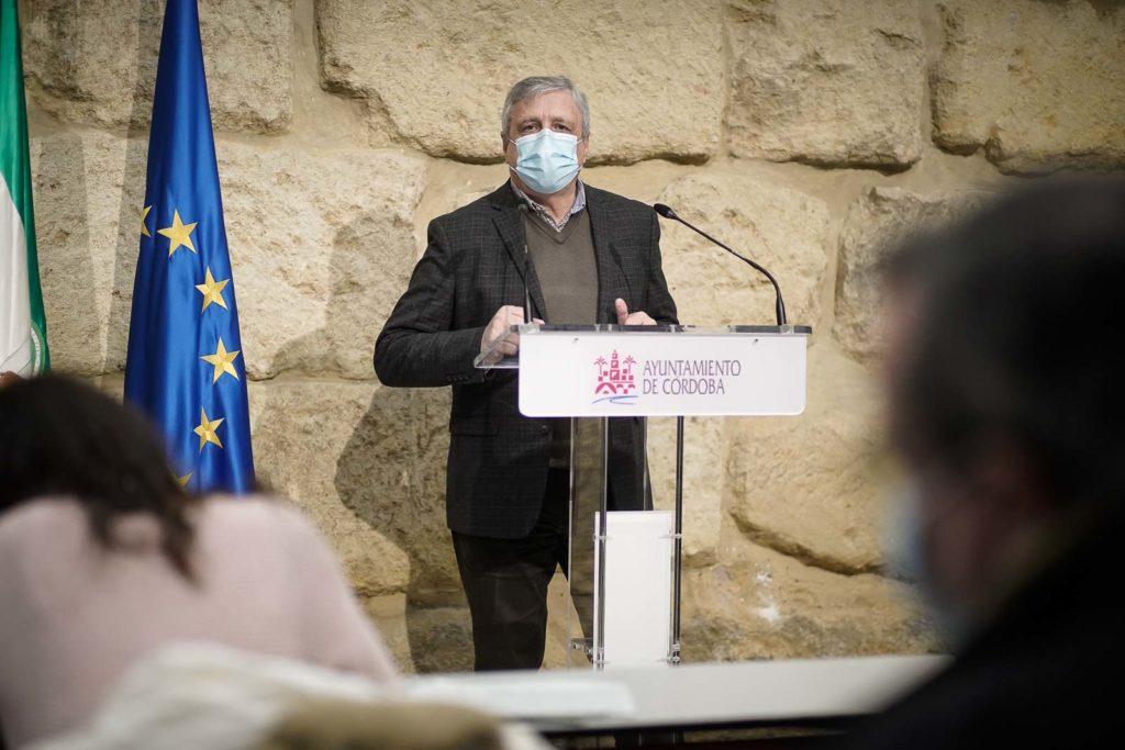 José Rojas, concejal del Grupo Socialista en el Ayuntamiento de Córdoba. Foto: Miguel Valverde