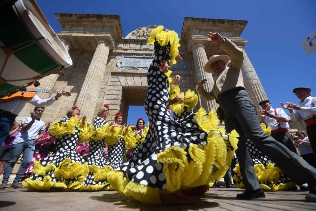 Coro rociero de Córdoba en mayo