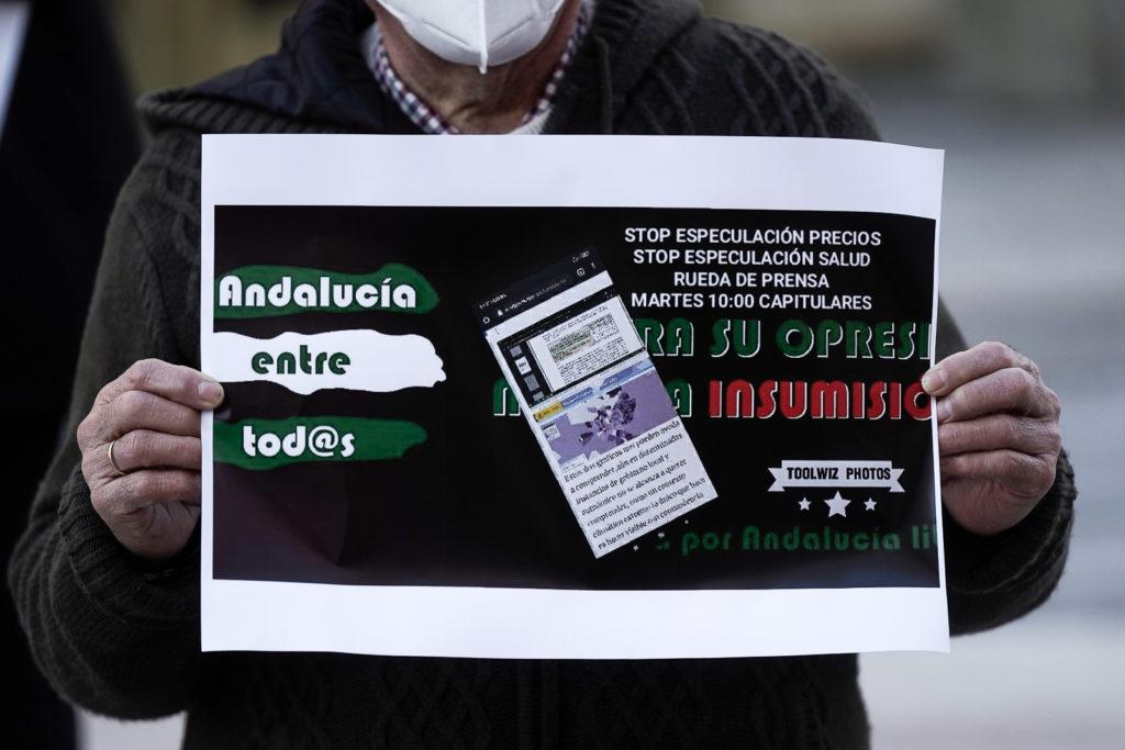 Plataforma Andalucía entre Todos. Foto: RAM