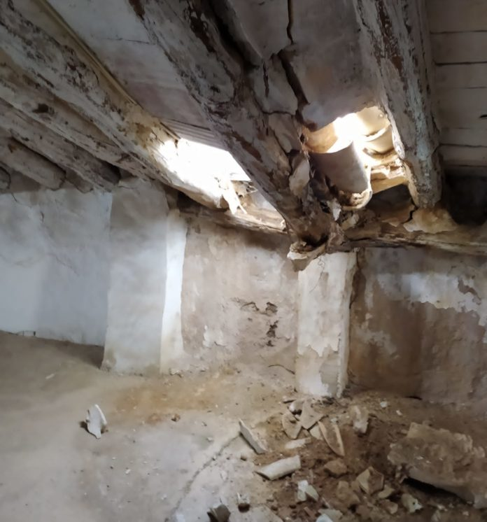 Rotura tejado La Tercia