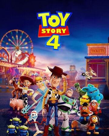 Portada de la película animada 'Toy Story 4'
