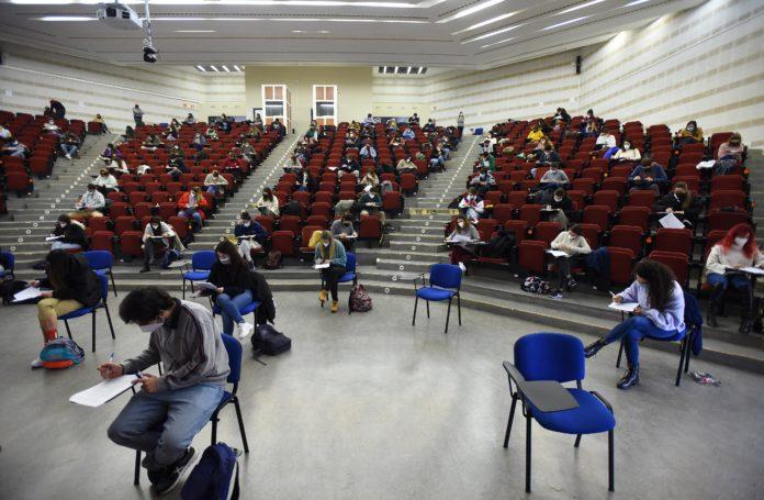 Universidad de Córdoba, exámenes