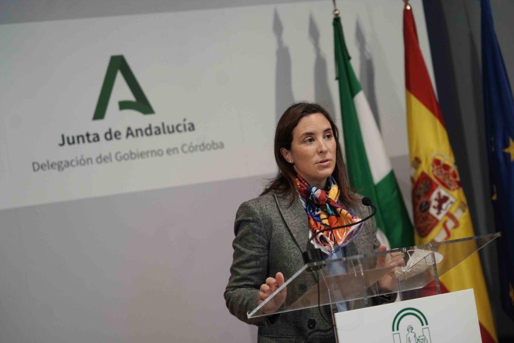 La Delegada Territorial de Cultura y Patrimonio Histórico de La Junta en Córdoba, Cristina Casanueva