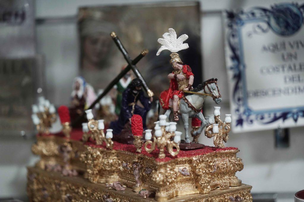 Paso procesional en miniatura