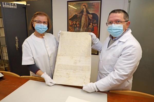 Digitalización de archivos de la Diputación