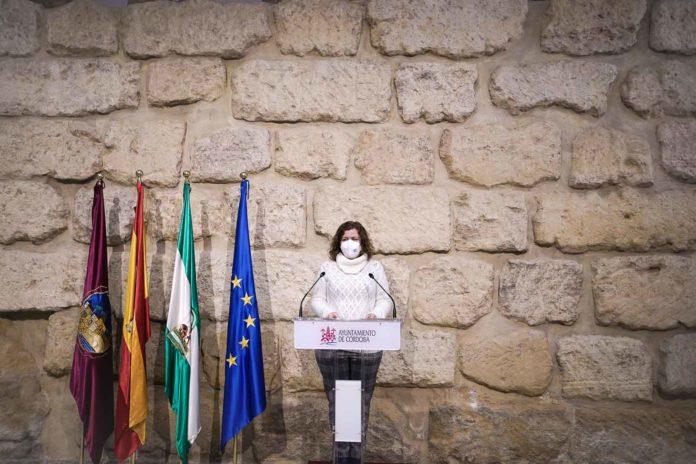 Alba Doblas, concejal de Izquierda Unida en el Ayuntamiento de Córdoba. Foto: Miguel Valverde