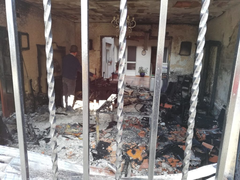 Incendio en Bujalance