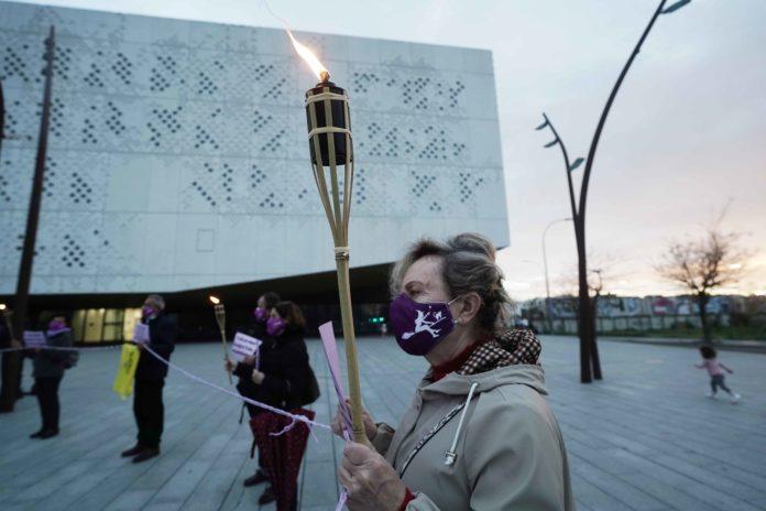 Concentración Plataforma Cordobesa Contra la Violencia a la Mujeres. Foto: RAM