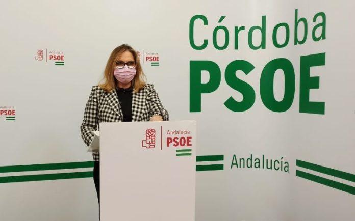 Senadora del PSOE por Córdoba, María Ángeles Luna. FOTO: PSOE