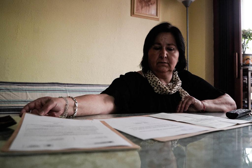 Afectada por pobreza energética. Foto: Miguel Valverde