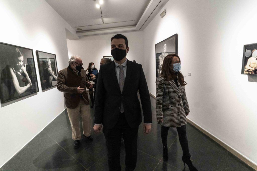 Inauguración de la exposición 'Ruta Abierta' en la Sala Vimcorsa