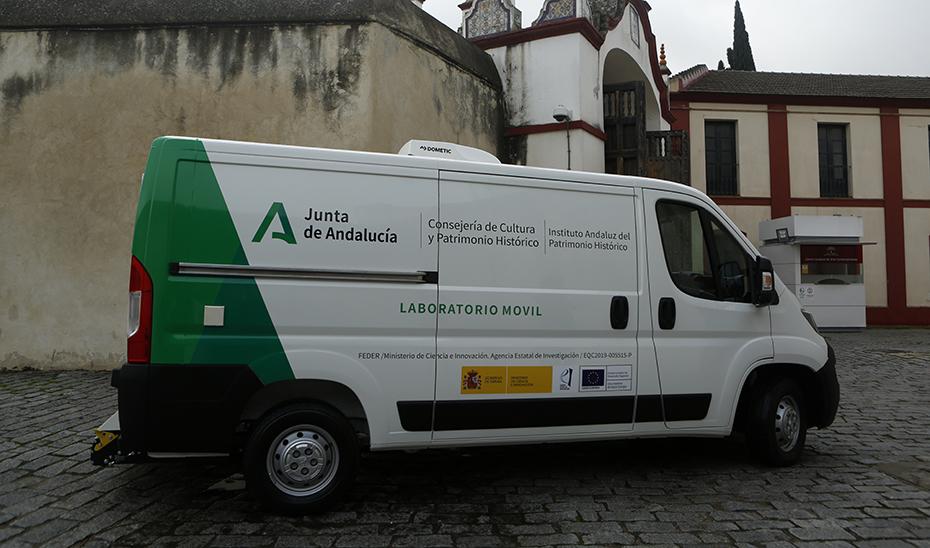Un centro científico sobre ruedas que estudiará bienes culturales de toda la geografía andaluza