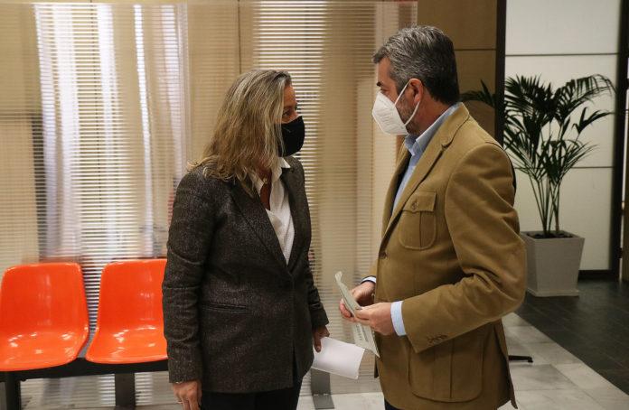 Isabel Albás y Miguel Ángel Torrico comparecen tras la Junta de Gobierno Local
