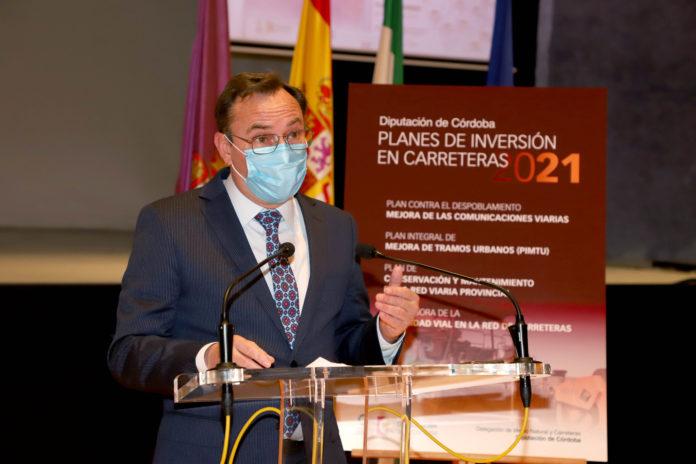 Francisco Palomares, delegado de Medio Natural y Carreteras de la Diputación de Córdoba