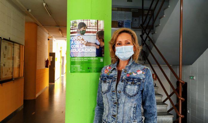 Delegada de Educación de la Junta de Andalucía, Inmaculada Troncoso