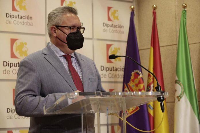 Esteban Morales en la Diputación de Córdoba