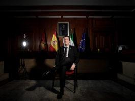 José María Bellido, alcalde de Córdoba. Foto Miguel Valverde