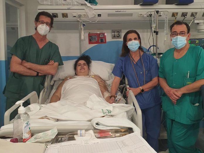 Paciente ECMO Covid-19 Pozoblanco