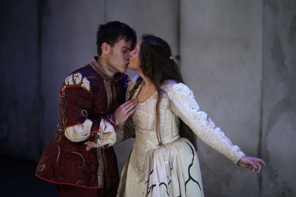 La historia de amor escrita por William Shakespeare