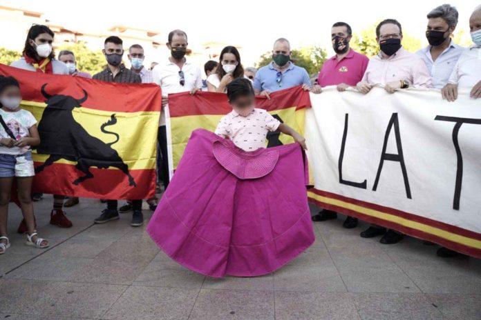 Manifestación a favor de la tauromaquia