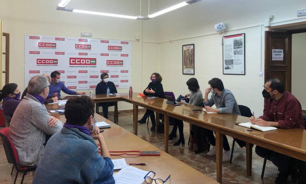 IU, Podemos y CCOO