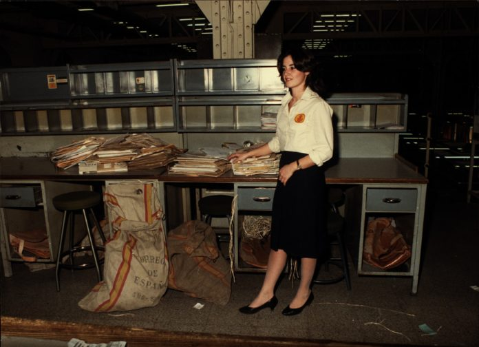 1983_Auxiliar de Clasificación y Reparto. Palacio de Comunicaciones