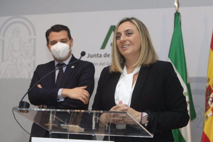 Marifran Carazo y José María Bellido