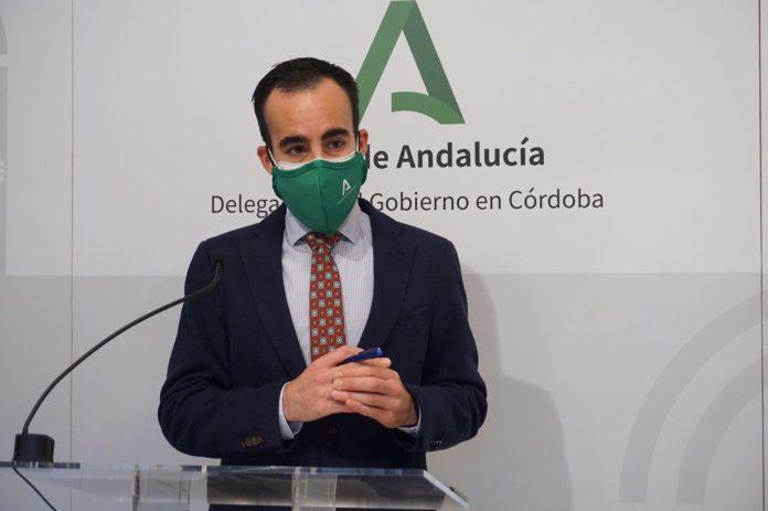 El delegado de Empleo de la Junta de Andalucía en Córdoba, Ángel Herrador