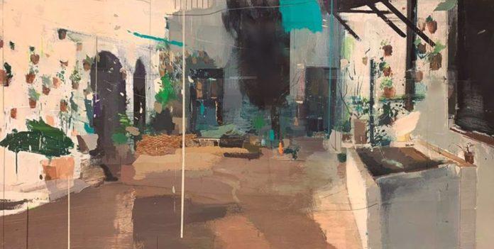 Cartel del Concurso Provincial de Pintura Rápida de la Fundación Viana