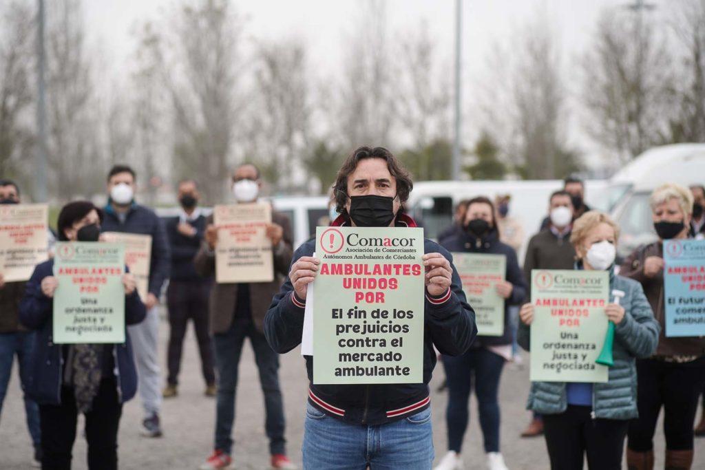 Manifestación Comacor. Foto: Miguel Valverde