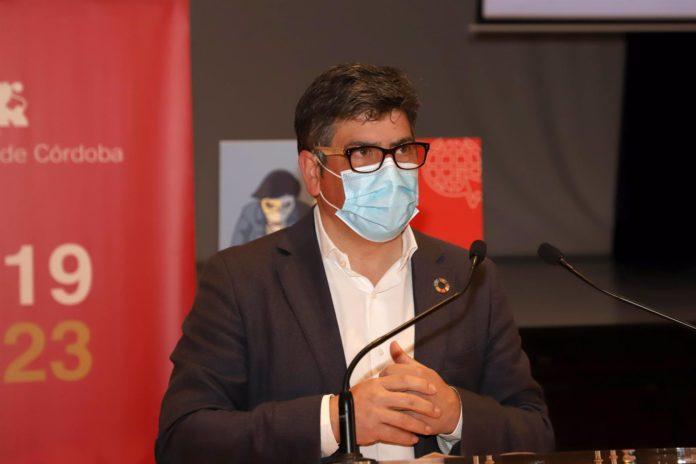Rafael Llamas. El delegado de Cohesión Social, Consumo, Participación Ciudadana y Protección Civil de la Diputación de Córdoba.
