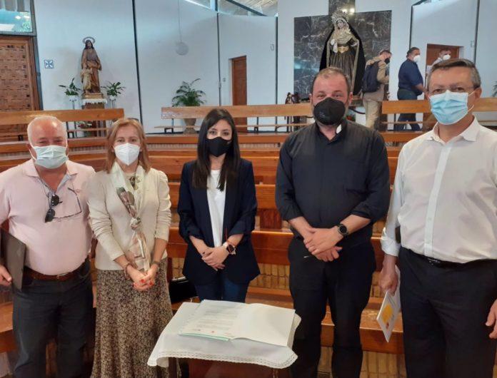 Firma del convenio entre el Imgema y la obra social de la parroquia de la Asunción
