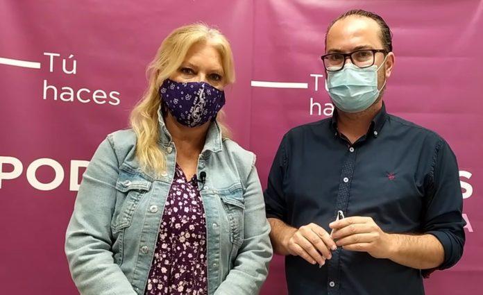 Cristina Pedrajas y Juan Alcántara