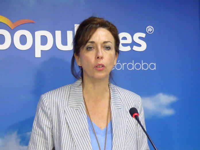 María Luisa Ceballos, La secretaria general del PP de Córdoba