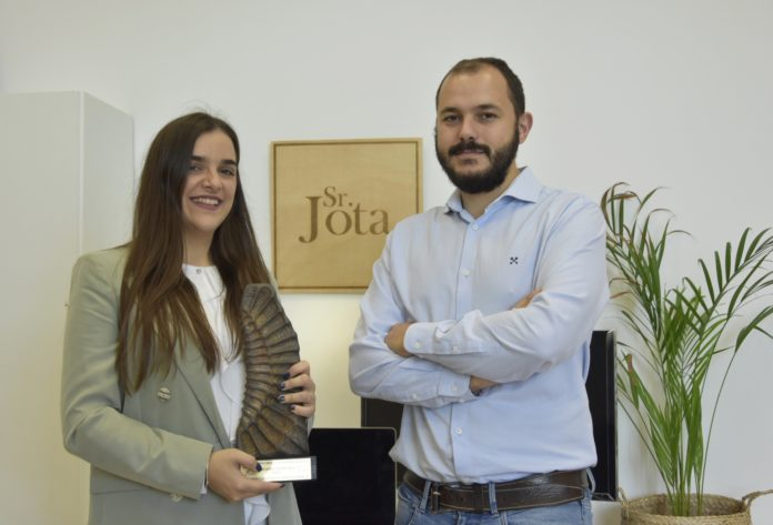 Aída Díaz y José Antonio Chaparro, creadores de Sr. Jota