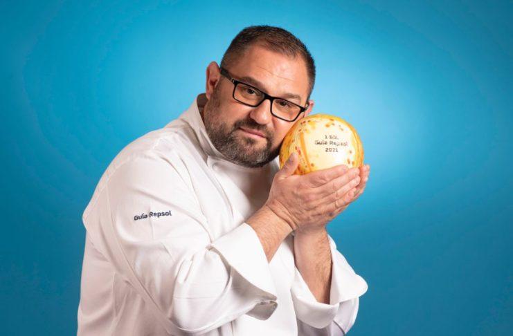 Paco López, chef de La Cuchara de San Lorenzo
